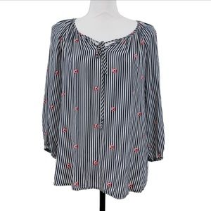 Fred David Striped Top